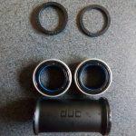 SRAM DUB 新型クランクのスピンドルは28.99mm BBベアリングは外出しもっこり!