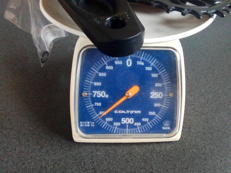 SRAM GX EAGLE DUB クランク 実測重量630g