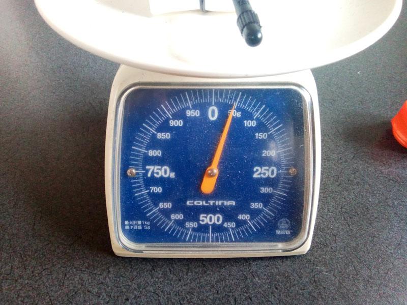 REVOLOOP WHITE 実測重量45g