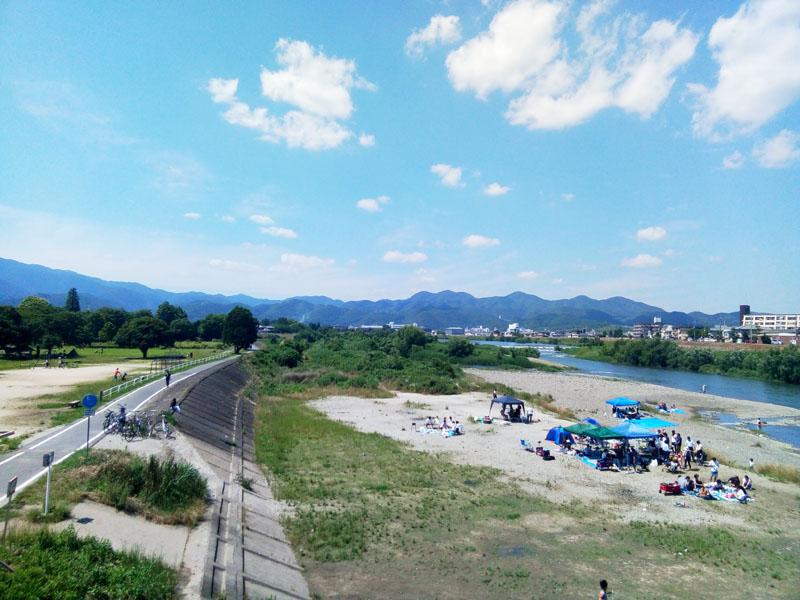 2018年6月桂川上流右岸