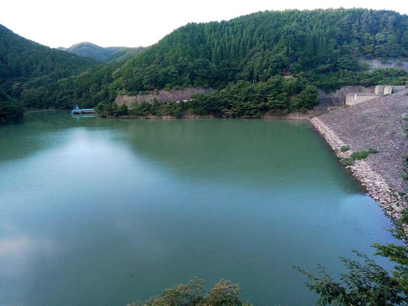 箕面ダムの水位はOK