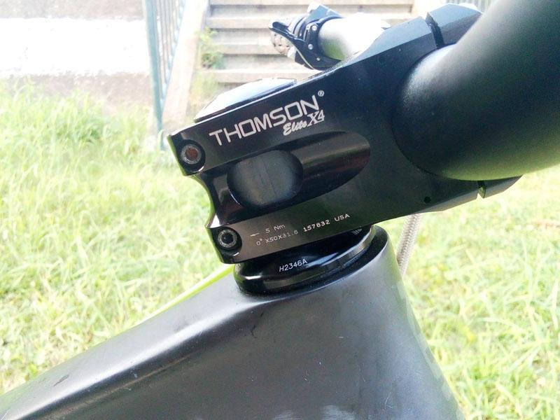 ステム長50mm