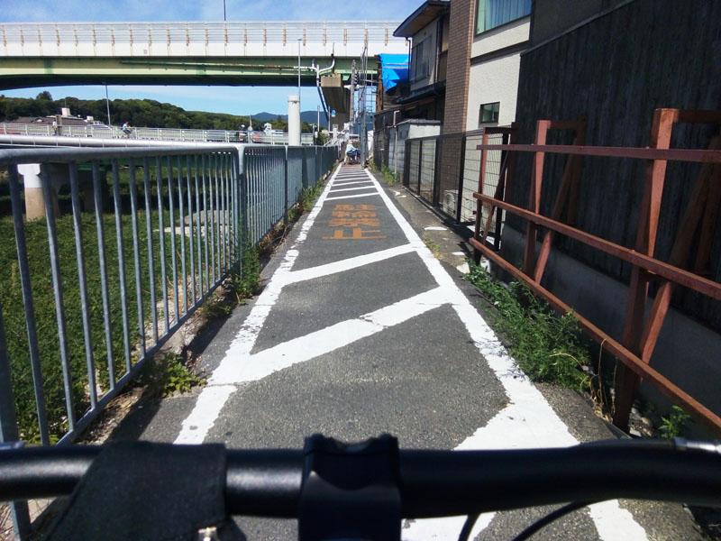 観月橋から241号線へ