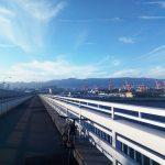神戸空港とポートアイランドへ自転車で行ってみる
