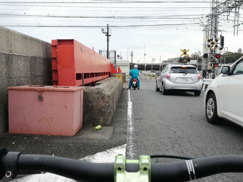 伝法大橋と阪神電車