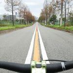 舞洲クリテウム会場まで自転車で わてのシーサイドプロムナードが…