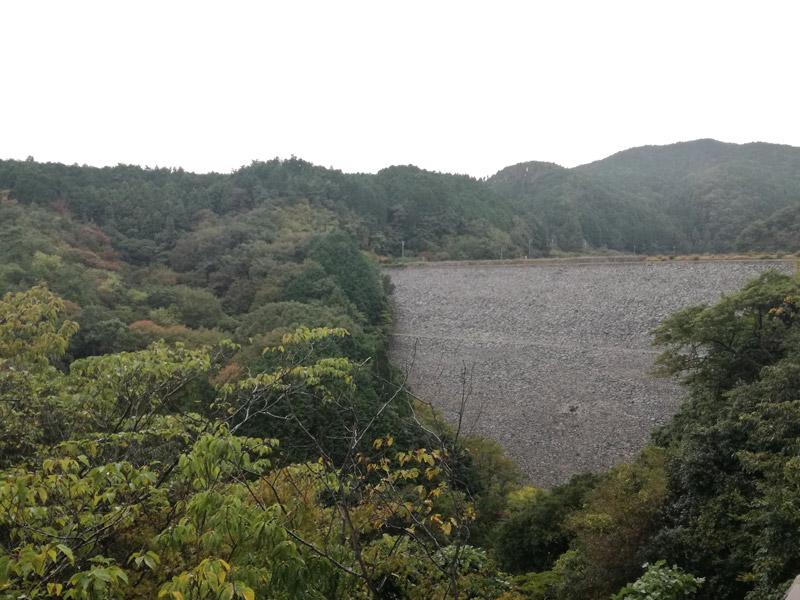 2018年10月箕面ダム