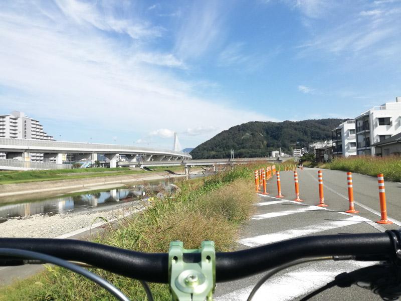 猪名川サイクルロードより呉服橋