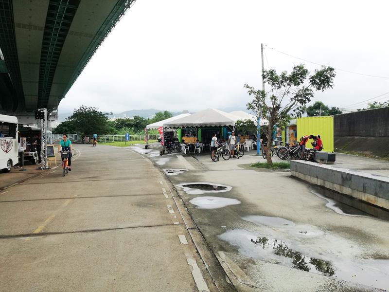 簡易自転車ステーション
