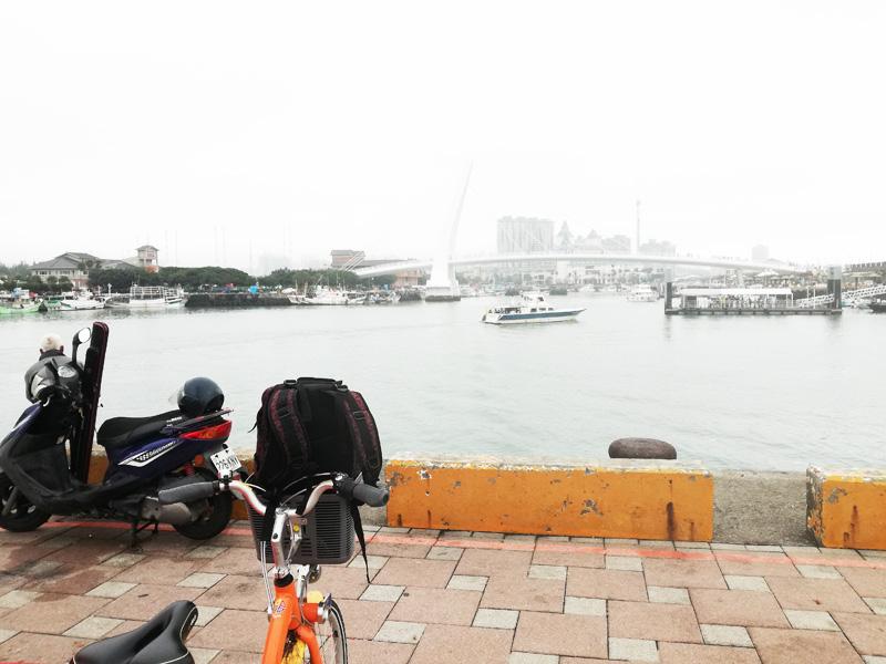 台北の淡水河サイクルロードを走破したYoubike
