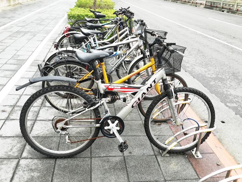 台北中心部の自転車勢力図
