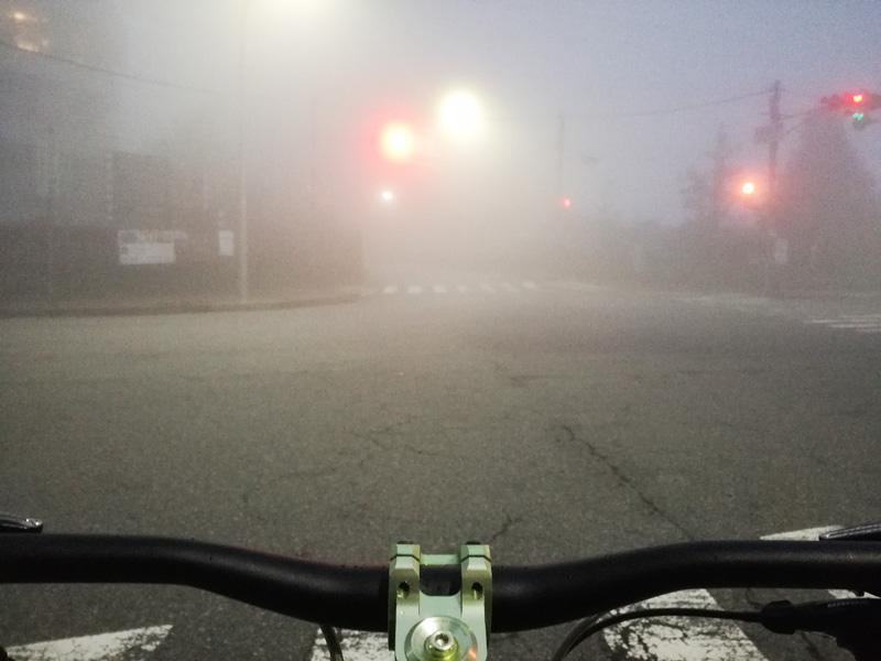 霧の裏六甲ゴール地点
