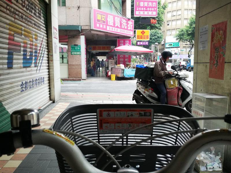 台湾おにぎりの露店