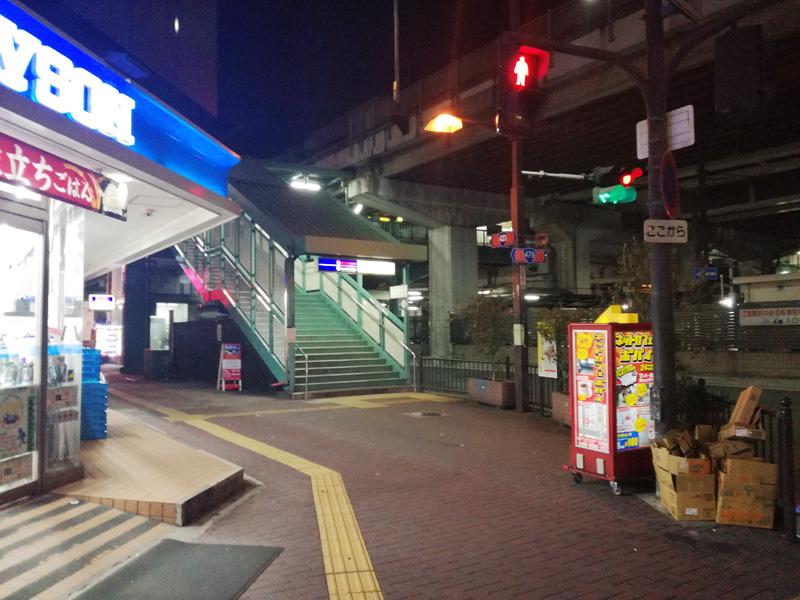 地下鉄江坂駅