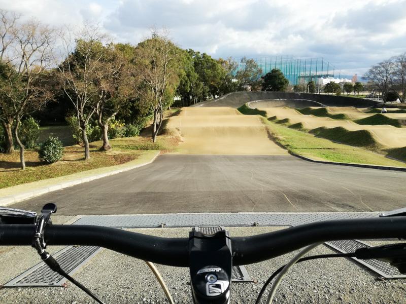 本格BMXのダートコース