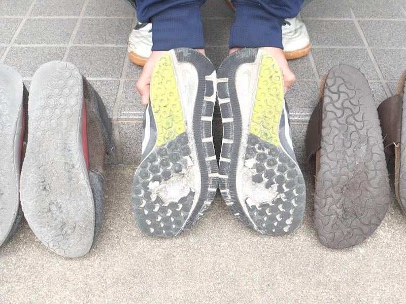 靴底の惨劇