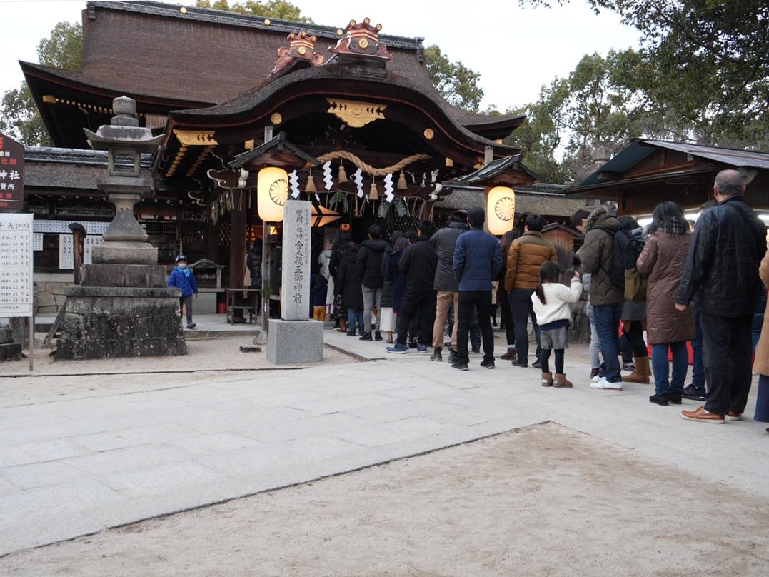 2019年1月1日藤森神社
