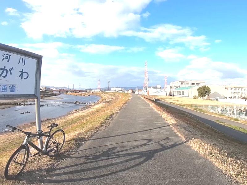 2019年1月27日猪名川サイクリングロード