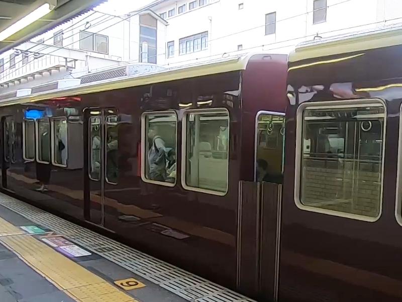 今年初の電車移動