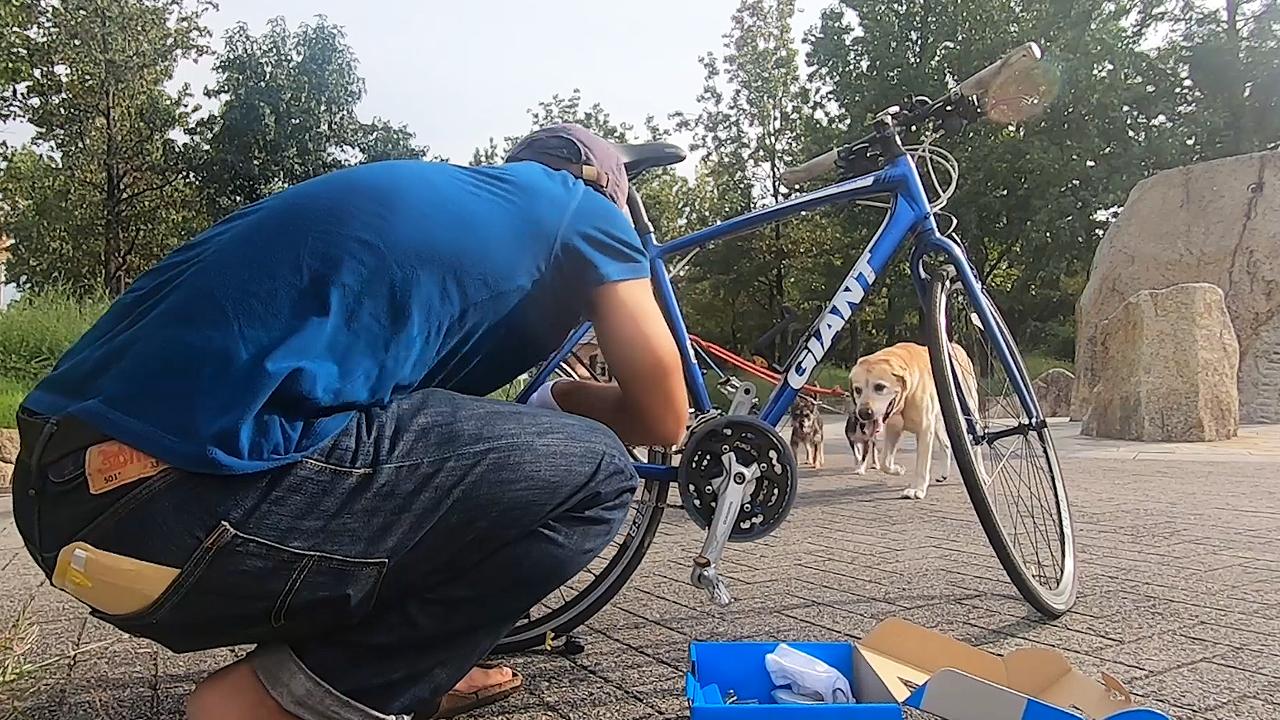 自転車異音