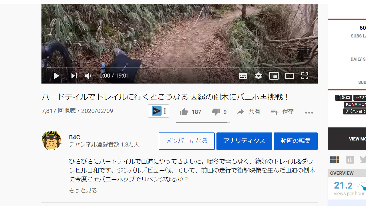 動画の説明文
