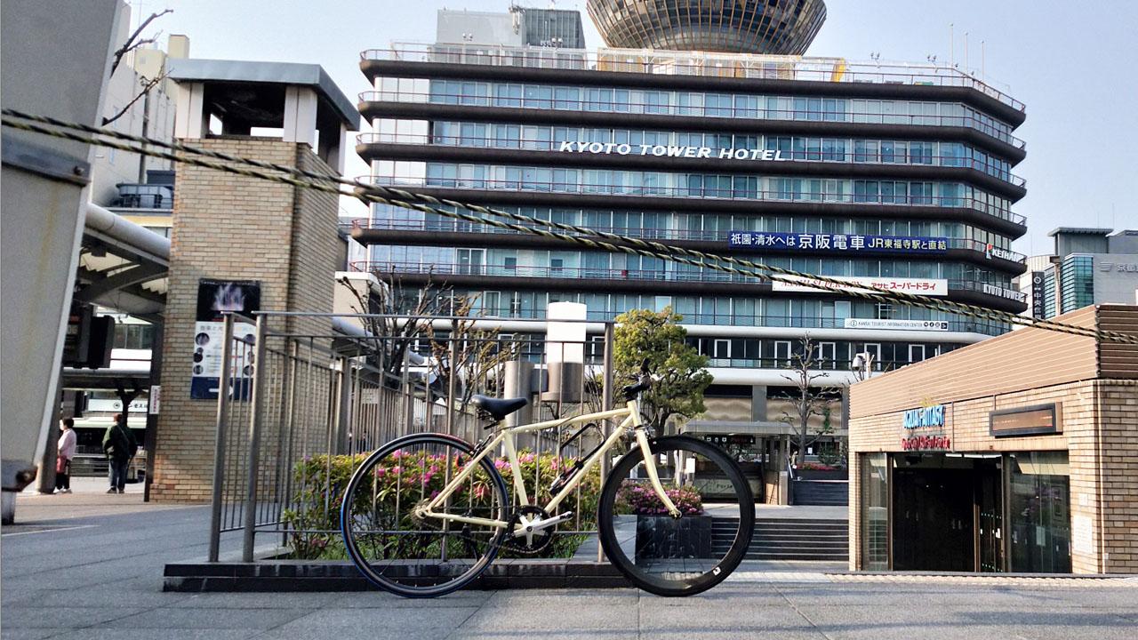 コロナ後の世界 京都駅前