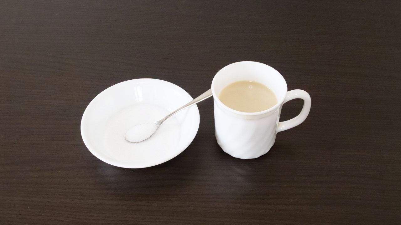 日課のコーヒー