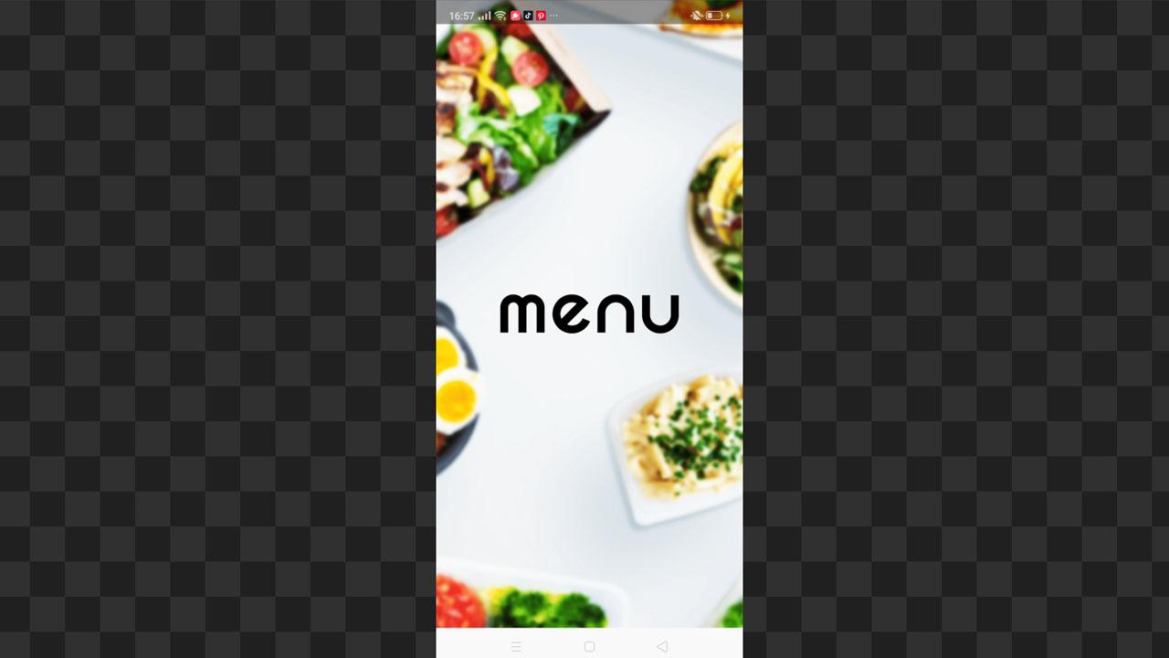 menuテイクアウトデリバリーアプリ