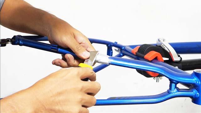自転車整備カスタマイズ