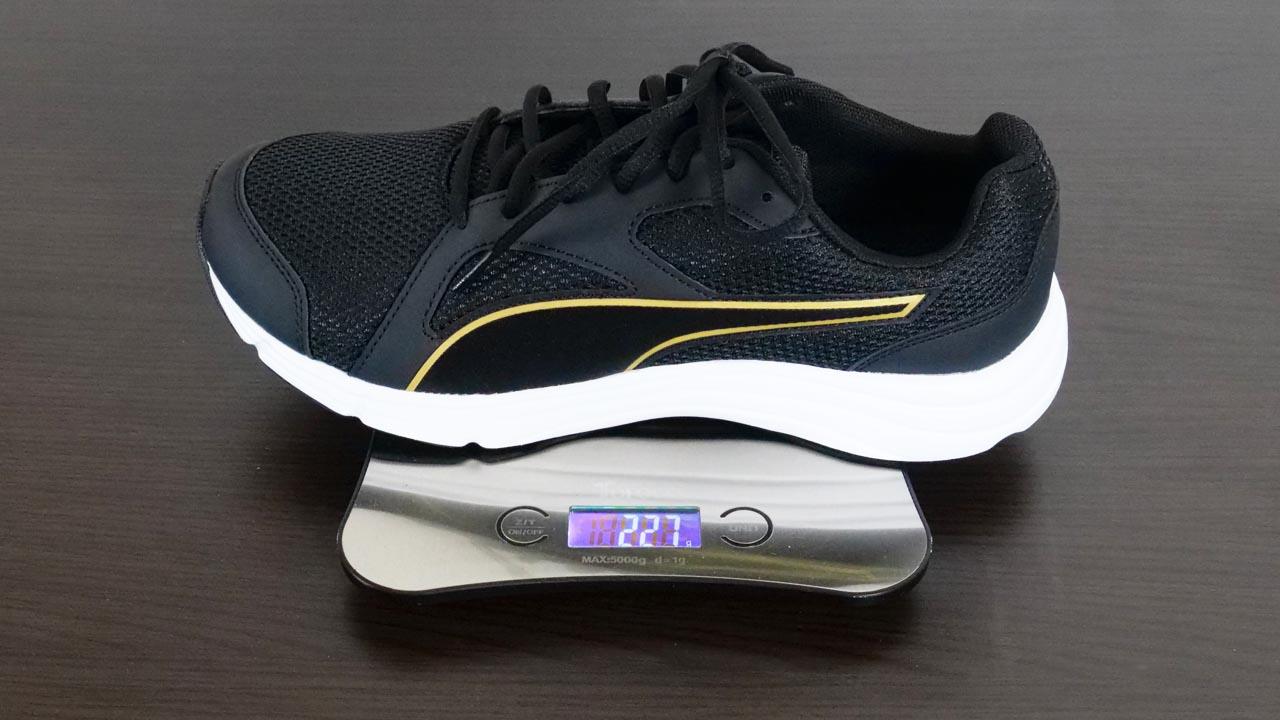 PUMA-EXPEDITE-WIDE-NU実測重量