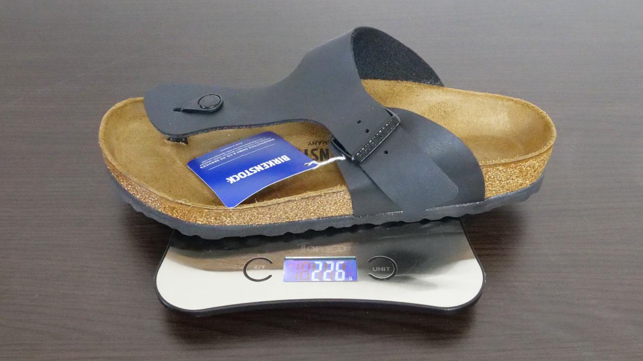 BIRKENSTOCK RAMSES重量