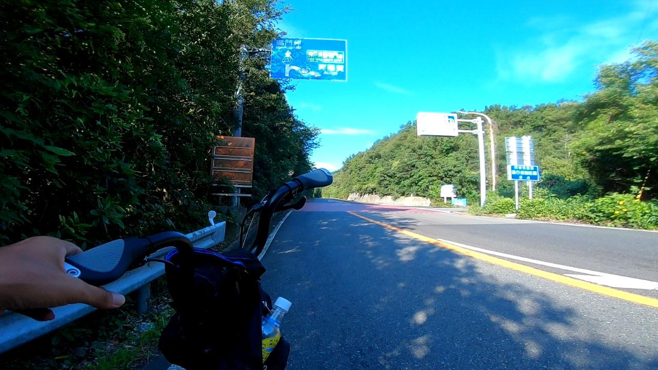 アワイチ鳴門岬への分岐