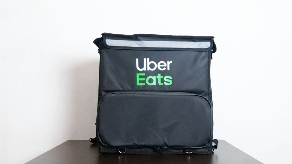 Uber Eats bag