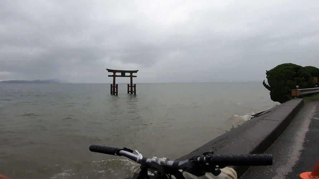 ビワイチの帰路 湖西