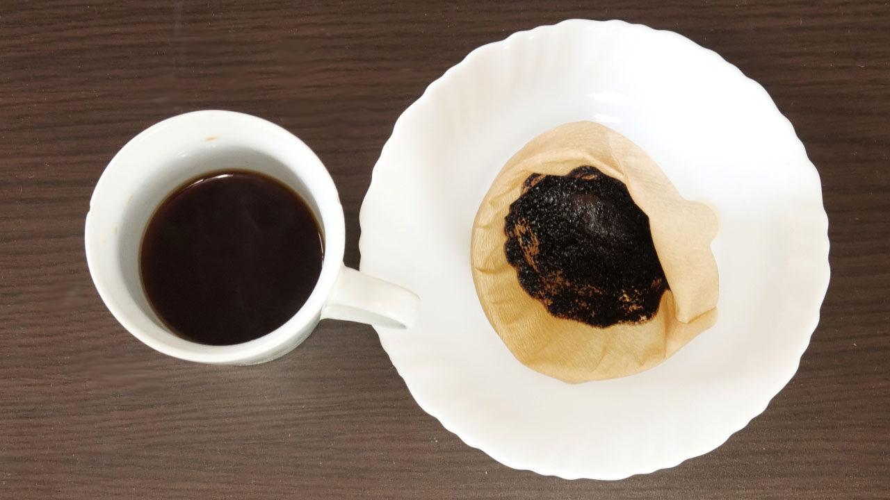 コーヒー豆の出涸らし
