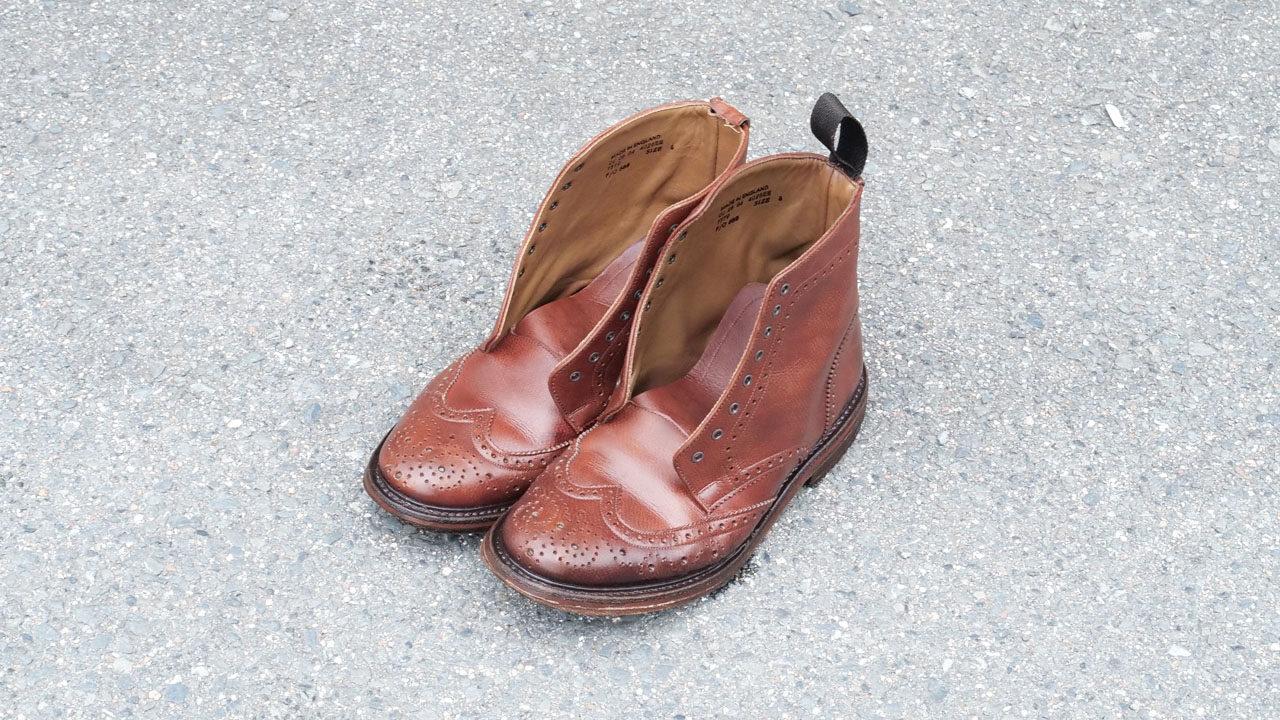 革靴丸洗いアフター