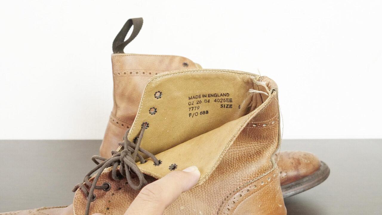 英国式革靴とUKサイズ