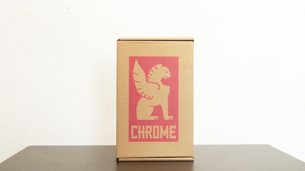 CHROME シューズの外箱